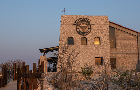 The iconic building of Etosha Trading Post
