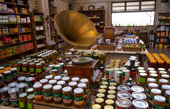 Etosha Trading Post - Variety of jams, preserves and grocery items