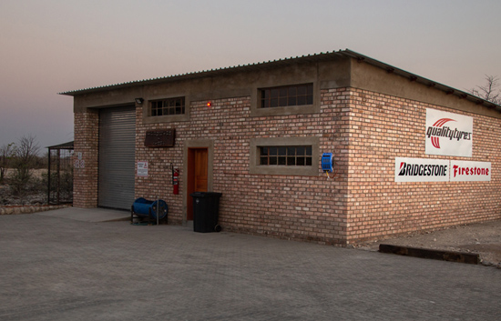 Etosha Trading Post Tyre Workshop